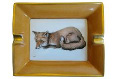 Hermès Fox Cigar Ashtray