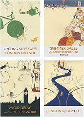 London cycle posters