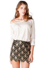 Carnaby Sequin Mini Skirt