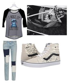 """Woke up like this"" by lord-of-swagger on Polyvore featuring dELiA*s, Simon Miller and Vans"