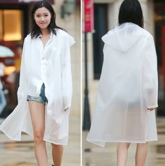 Best Womensraincoat For Ireland Transparent Raincoat, Rain Wear, Vintage Fashion, Vintage Style, Old Navy, J Crew, Rain Jacket, White Dress, My Style