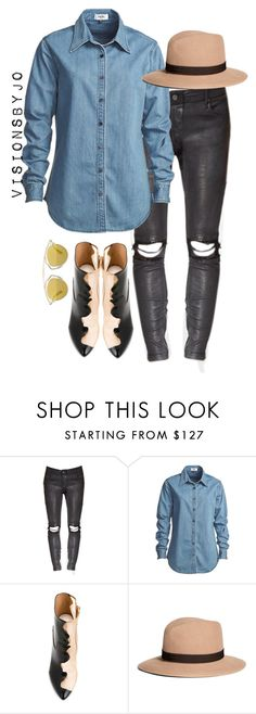 """""""Untitled #1569"""" by visionsbyjo ❤ liked on Polyvore featuring Vale, Maison Margiela, Brooks Brothers and Christian Dior"""