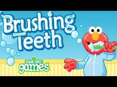 Sesame Street - Brushing Teeth Great Hygiene Educational Full Game Episode For Toddlers English HD - YouTube
