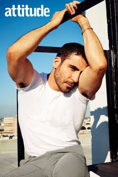 Miguel Angel Silvestre revealed he is flattered if people think he is gay Miguel Angel, Hot Hockey Players, Gorgeous Men, Beautiful, Little Bit, Poses For Men, Muscular Men, Dream Guy, Attractive Men