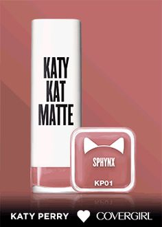 11-must have shades in one-semi matte lipstick. That's new Katy Kat Matte from Katy Perry and COVERGIRL. What's your favorite?