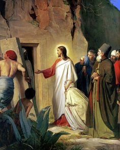 Choose your favorite jesus christ paintings from millions of available designs. All jesus christ paintings ship within 48 hours and include a money-back guarantee. Jesus Ressuscité, Jesus Is Lord, Jesus Face, Bible Pictures, Jesus Pictures, Image Jesus, Raising Of Lazarus, Jesus Christus, Life Of Christ