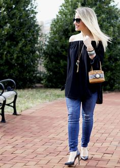 Off-the-Shoulder Day Date | York Design Company