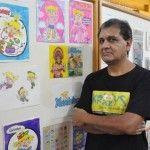 Para a criançada: criador da turma da Xuxinha ministra oficina de desenho em Jaraguá do Sul