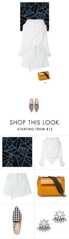 """""""Outfit of the Day"""" by wizmurphy ❤ liked on Polyvore featuring Johanna Ortiz, Sandy Liang, Marni, Sam Edelman, DANNIJO, Kimberly McDonald, ootd and sandyliang"""