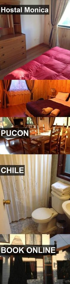 Hotel Hostal Monica in Pucon, Chile. For more information, photos, reviews and best prices please follow the link. #Chile #Pucon #travel #vacation #hotel