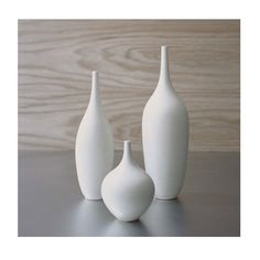 beautiful set of vases by etsy's sarapaloma. $120
