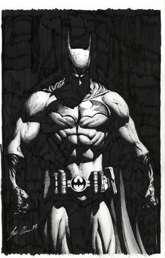Batman by Scott Clark Comic Art