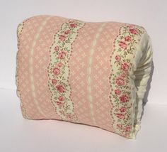 Shabby Chic Breastfeeding Support Pillow/Nursing Pillow/ Arm Pillow/ Travel Pillow