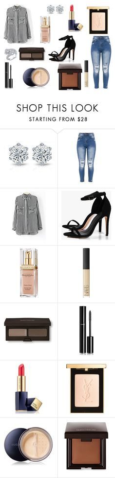 """Rihanna"" by aliciadelgado on Polyvore featuring Belleza, Boohoo, Elizabeth Arden, NARS Cosmetics, Laura Mercier, Chanel, Estée Lauder y Yves Saint Laurent"