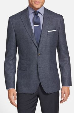 BOSS+'Johnstons'+Trim+Fit+Wool+Blend+Sport+Coat+available+at+#Nordstrom
