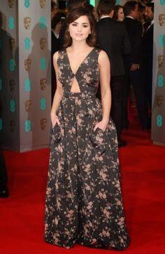 Jenna Coleman bafta awards 2015