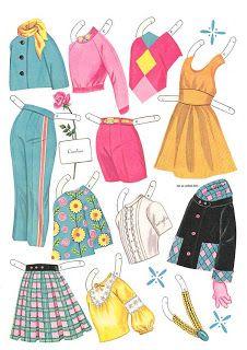 Kathleen Taylor's Dakota Dreams: Thursday Tab- Saalfield Pre Teen Paper Dolls, N3941