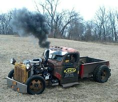 I've never been into rat rods but I would drive the wheels off this truck.
