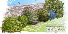 Haie pour oiseaux et papillons - Housewife. but not desperate ! Viburnum Opulus, Plantation, Hedges, Garden Planning, Housewife, Landscape, Nature, Pictures, Bouquets