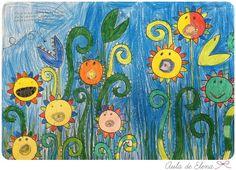 El gran álbum para dibujar, colorear y garabatear en el Aula de Elena 11