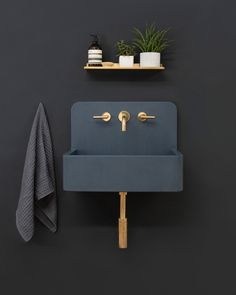 kast launches new 'kast canvas' series of patterned concrete basins the collection features an existing alternative to traditional bathroom products with an original design. Decor, Trendy Bathroom, Wall Mounted Taps, Home Decor, Concrete Bathroom, Concrete Basin, Cement Sink, Wall Patterns, Bathroom Decor