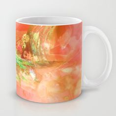 Buy Abstract orange paint by Christine baessler as a high quality Mug. Worldwide shipping available at Society6.com. Just one of millions of products available.