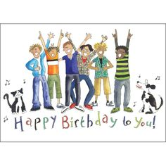 Birthday Boys  - Boy's birthday cards from Phoenix Trading  £1.75 per card or £1.40 when buying 10 or more.  Children, Children's birthday cards