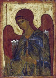 Архангел Гавриил, Икона из деисусного чина, 1395 год