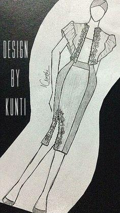 Sek dress sketch