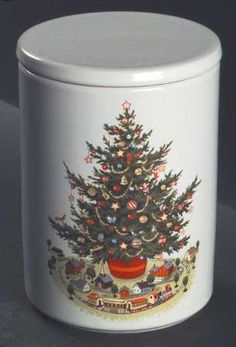 4) Pfaltzgraff USA Christmas Heritage 16 oz. (2 Cup) Large Soup ...