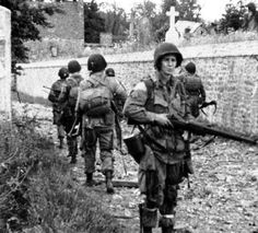 Us Paras in Normandy