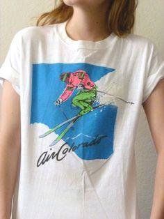 90s COLORADO Tourist Tshirt  Air Colorado by BuddyBuddyVintage, $15.00