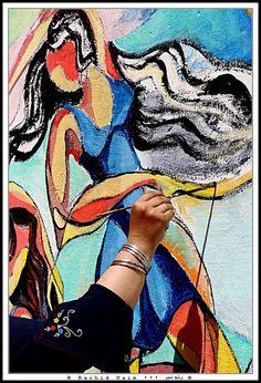 Woman created by a woman - Et la femme créa la femme by Rachid Naim, via Flickr