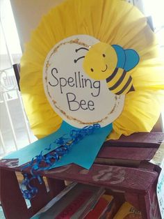 Spelling bee contest for 1°grade