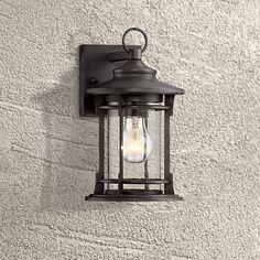 """Grenville 11"""" High Bronze Outdoor Wall Light"""