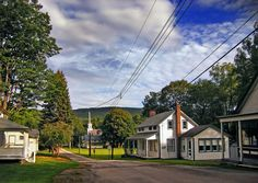 This is Walpack Center, the town's main drag.