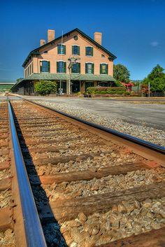 Historic Train Depot, Huntsville, Alabama