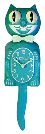 I have always wanted a Kit-Cat Clock! #kitsch