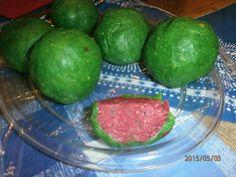 Az elkészült görögdinnyék.