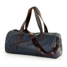 d5c3a1ae6070 Fashion Male Travel bag Men s Leather Shoulder Bag Vintage Duffle Handbag  Large Capacity Crossbody Bags Daily Life Tote Bag Y592