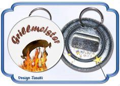 Flaschenöffner mit Geschenkdose Grillmeister von Jasuki auf DaWanda.com