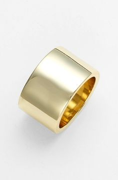 Ariella Collection Cigar Band Ring  in  from Nordstrom on shop.CatalogSpree.com, your personal digital mall.