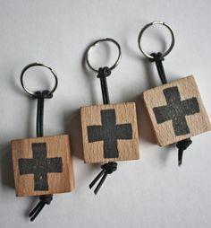 cross sleutelhanger