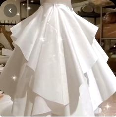 Fashion Sewing, Diy Fashion, Ideias Fashion, Fashion Dresses, Origami Fashion, Fashion Ideas, Fashion Tips, Baby Girl Dress Patterns, Skirt Patterns Sewing