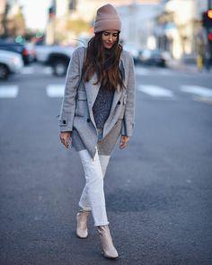 Wearing: Zara Coat | Cashmere Sweater | Zara Jeans | Public Desire Boots | Blank Itinerary
