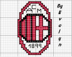 Schema punto croce Milan