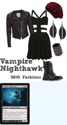 Magic the Gathering Vampire Nighthawk
