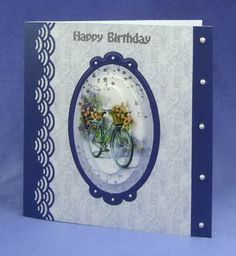 Card Making Project - Life's Journey Decoupage Topper Card