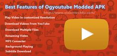 Not only just videos, but you can even download the audio format from the YouTube video! How? Get the complete details about the OGyoutube apk latest version.