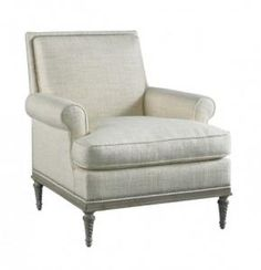 Lillian August Shelley Chair # LA7120C Overall: W35 D37 H38